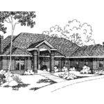Classic House Plans Brentwood Associated Designs