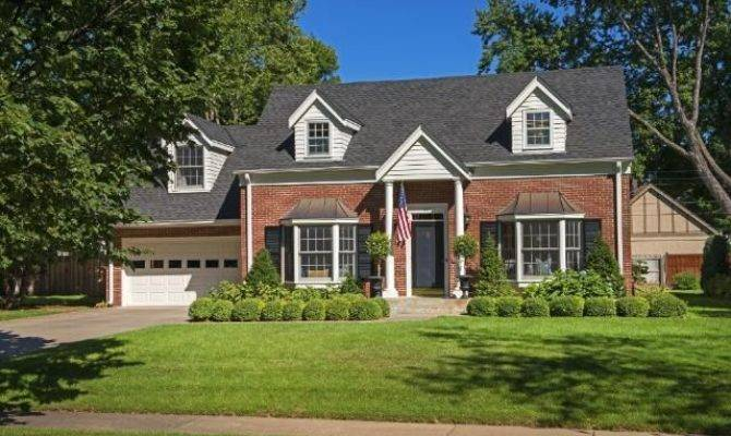 Classic Red Brick Cape Cod Just Perfect Curb Appeal