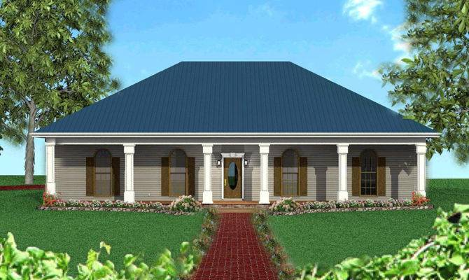 Classic Southern Hip Roof Architectural