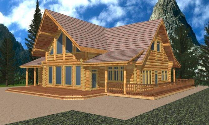Classic Whistler Log Design Coast Mountain Homes