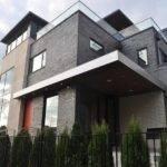 Classy Bedroom Furniture Modern Grey Brick House