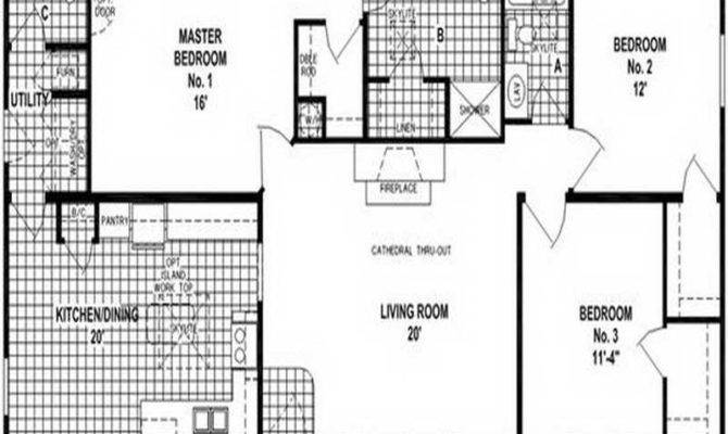 Clayton Double Wide Mobile Homes Floor Plans Modern