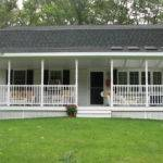 Clean Lawn Mobile Home Front Porch Yard Area Erins Creative