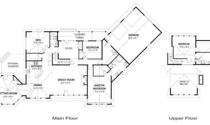 Clearview Post Beam Retreats Cottages Cedar Home Plans