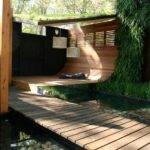 Clever Courtyard Design Contemporary Deck Other