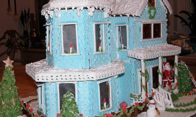 Clever Gingerbread Houses Designs
