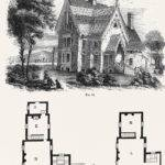 Clip Art Hooked Victorian Architecture
