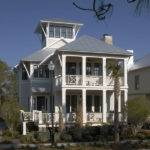Coastal Beach House Plans Bedrooms Covered Porches