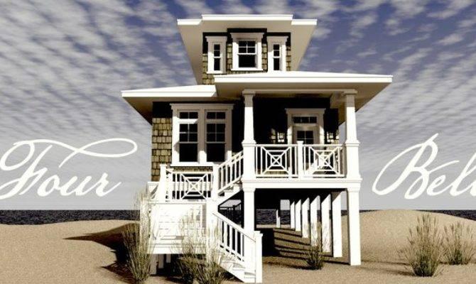 Coastal House Plan Alp Chatham Design Group Plans