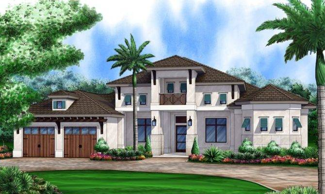 Coastal House Plans Home Plan West Indies