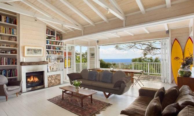 Coastal Style Living Interior Design