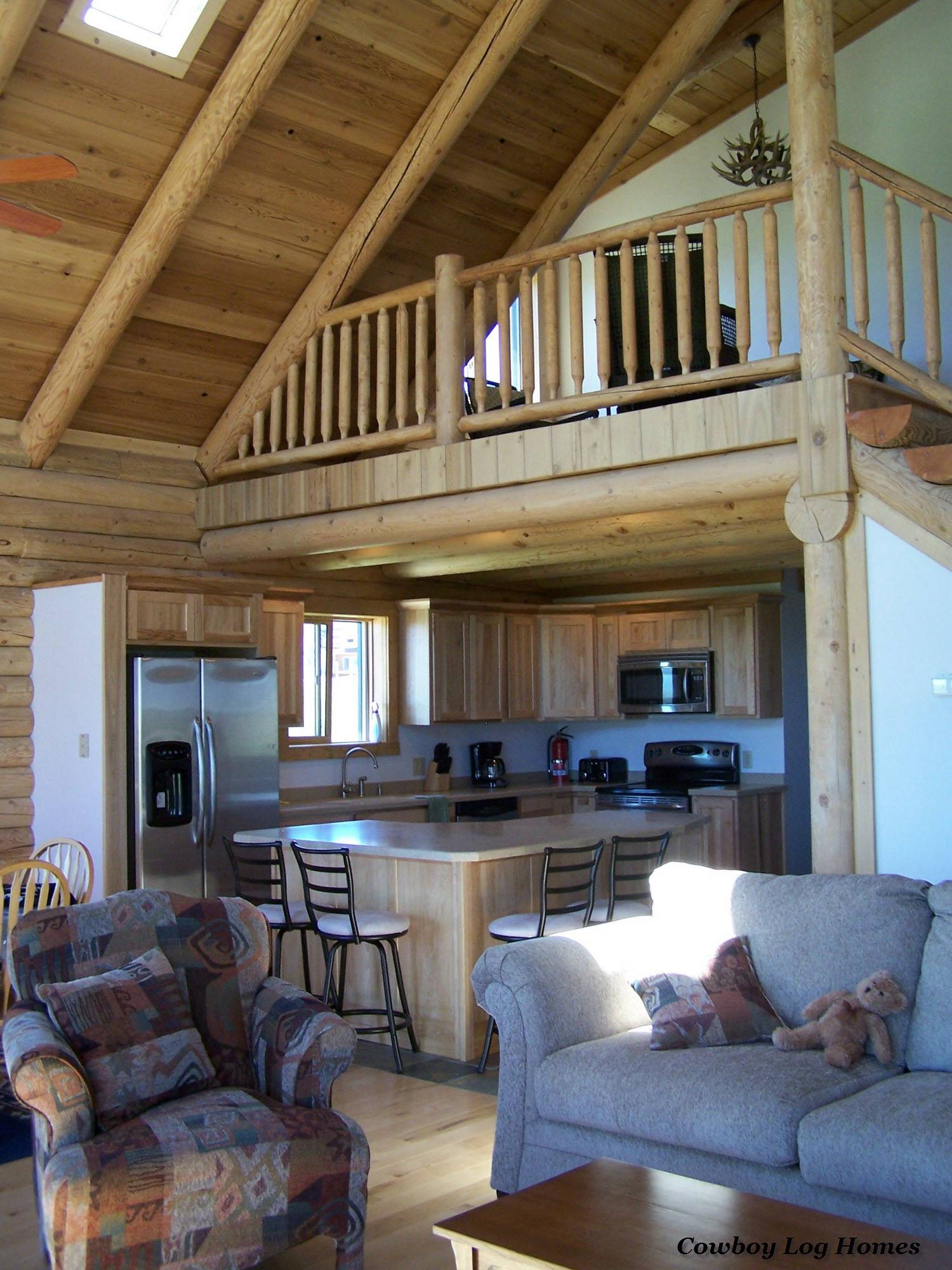 Cody Floor Plan Cowboy Log Homes