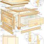 Coffee Table Storage Bench Woodworking Plans Woodshop