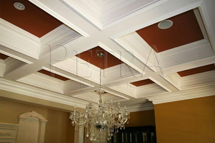 Coffered Ceiling Design Pinterest