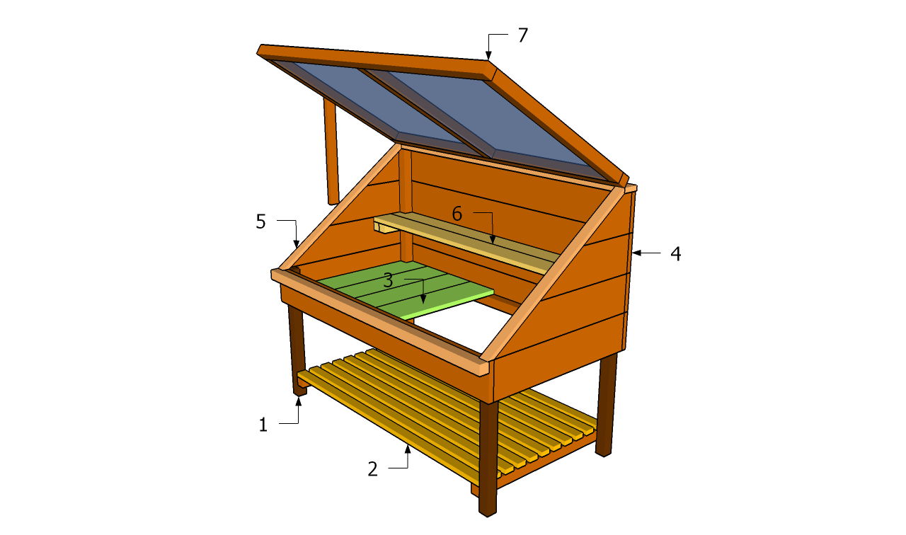 Cold Frame Building Plans Garden Build