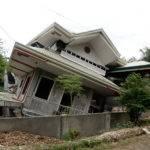 Collapsed Two Story House Maribojoc Bohol