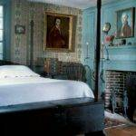 Colonial Blue Bedroom Interiors Pinterest