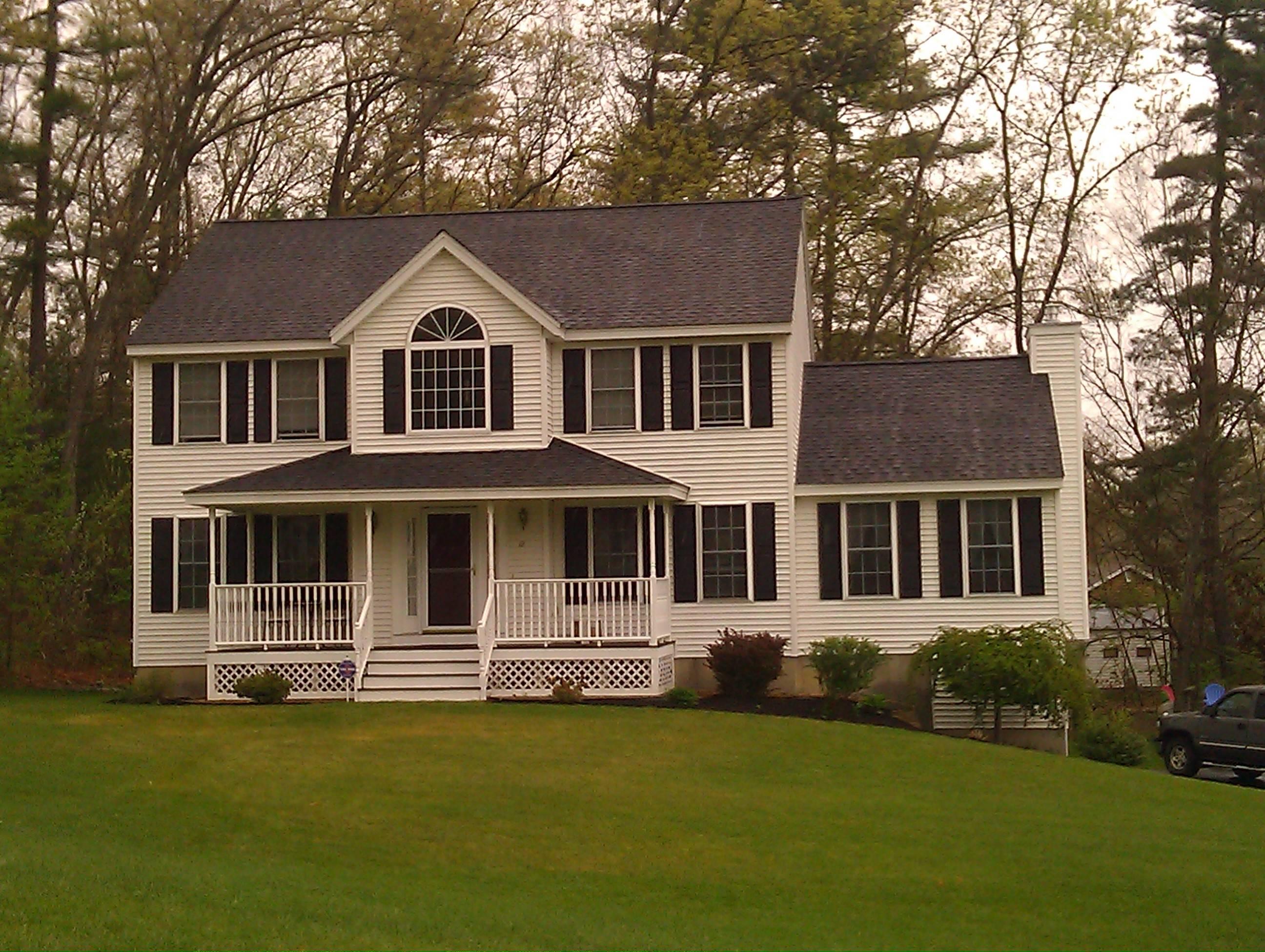 Colonial Front Porch Designs - Home Plans & Blueprints  #15