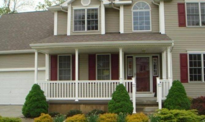 Colonial Front Porch Ideas Fabulous