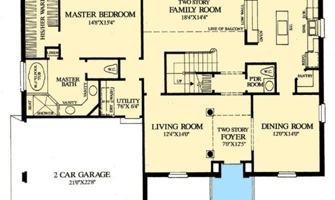 Colonial Home First Floor Master