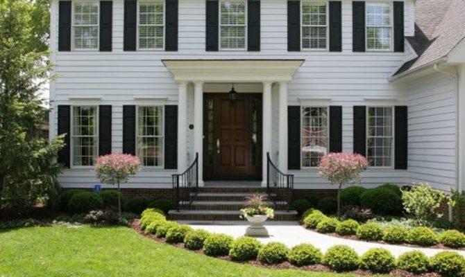 Colonial Home Landscape Design Ideas