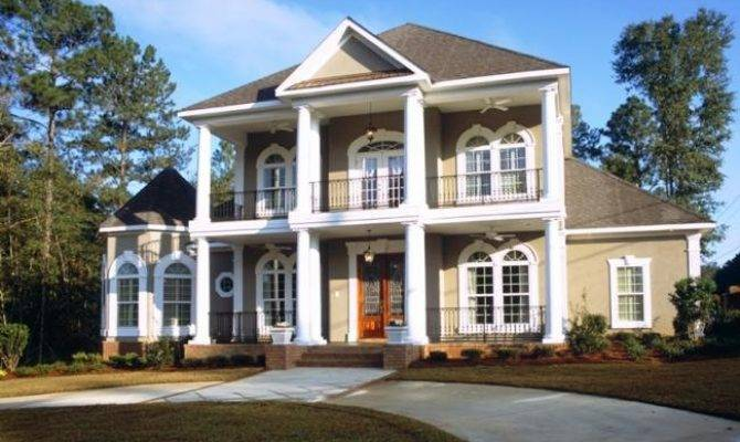 Colonial Home Style Southern House Plans