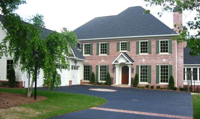 Colonial House Plan Alp Chatham Design Group