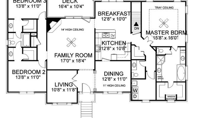 Colonial House Plan First Floor Plans More Home Plans Blueprints 63656
