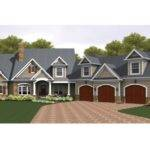 Colonial House Plan Square Feet Bedrooms
