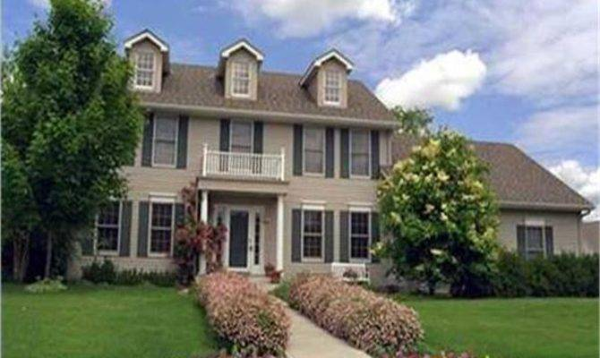 Colonial House Plans Designs Plan Collection