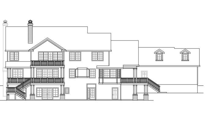 Colonial House Plans Princeton Associated Designs