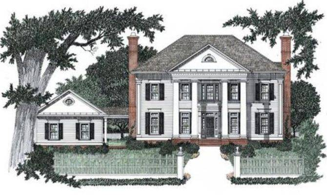 Colonial House Styles Plans