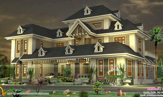Colonial Mixed Traditional Home Modern Interior Designs