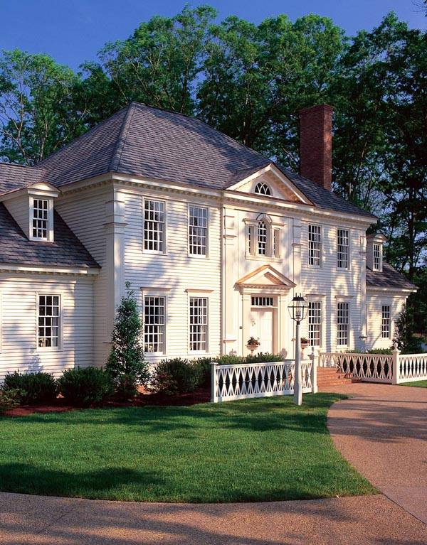Colonial Plantation Southern House Plan - Home Plans ...