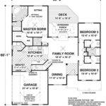 Colonial Style House Plan Beds Baths