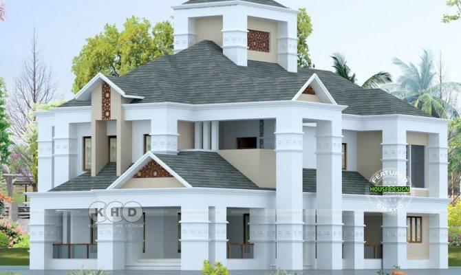 Colonial Style Luxury Home Bedroom Kerala Design