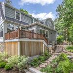 Colonial Two Story Addition Car Garage Pegasus Design