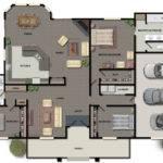 Color Floor Plan Renderings