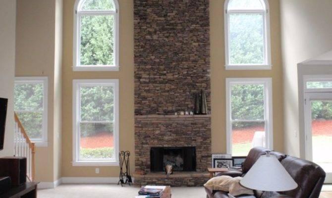 Color Ideas Compliment Fireplace