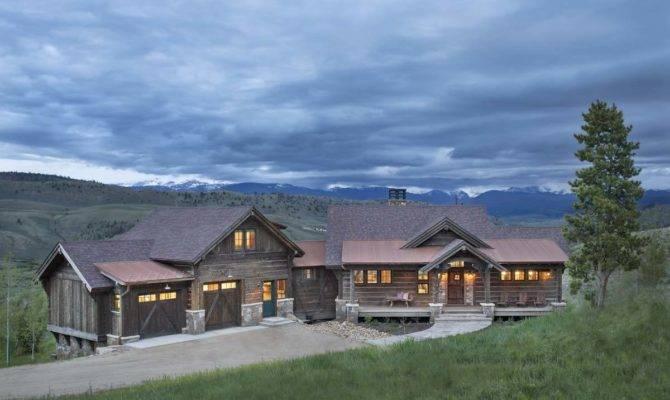 Colorado Ranch Style Home Haven Rustic Warmth