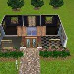 Colored House Floor Plans Plan