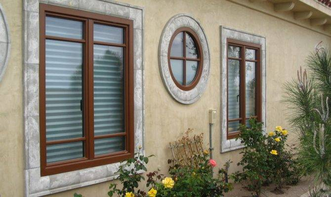 Colorful Frames Mullions Can Enhance Your Exterior Home
