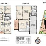 Colour Floor Plan Storey Home