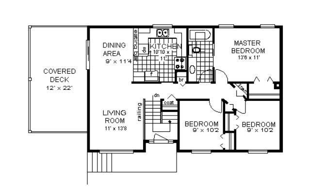 Compact Level Home Hwbdo European House Plan