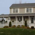 Concerting Front Porch Design Mobile Homes Dark Rooftop Decor