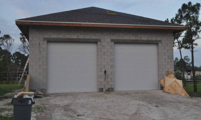 Concrete Block Garage Walls Journal Board