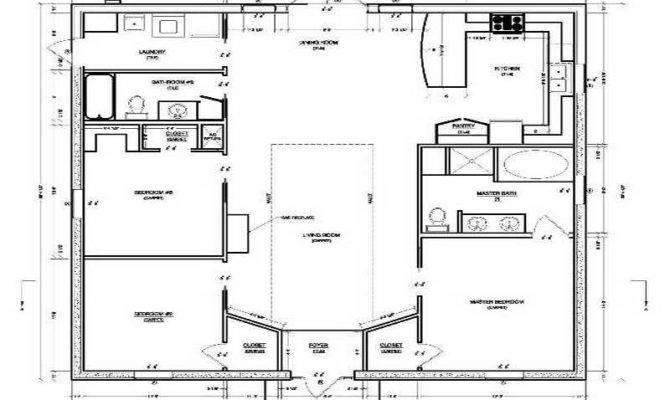 Concrete Block House Plans Smalltowndjs