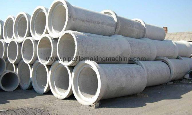 Concrete Drain Pipe Making Machine Pole