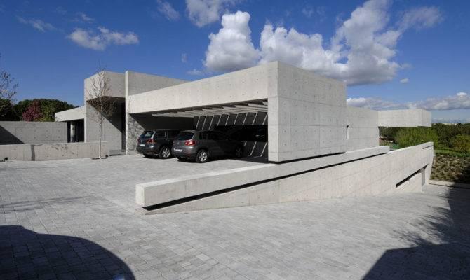 Concrete House Design Cero Architecture Interior