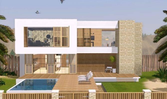 Confidential Secrets Sims Modern House Blueprints